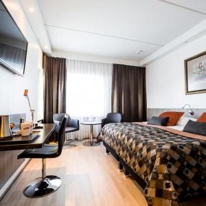 Hotel room at Hotelli Inari in Lapland