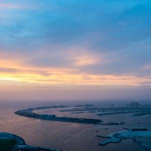 Sunset in Dubaï