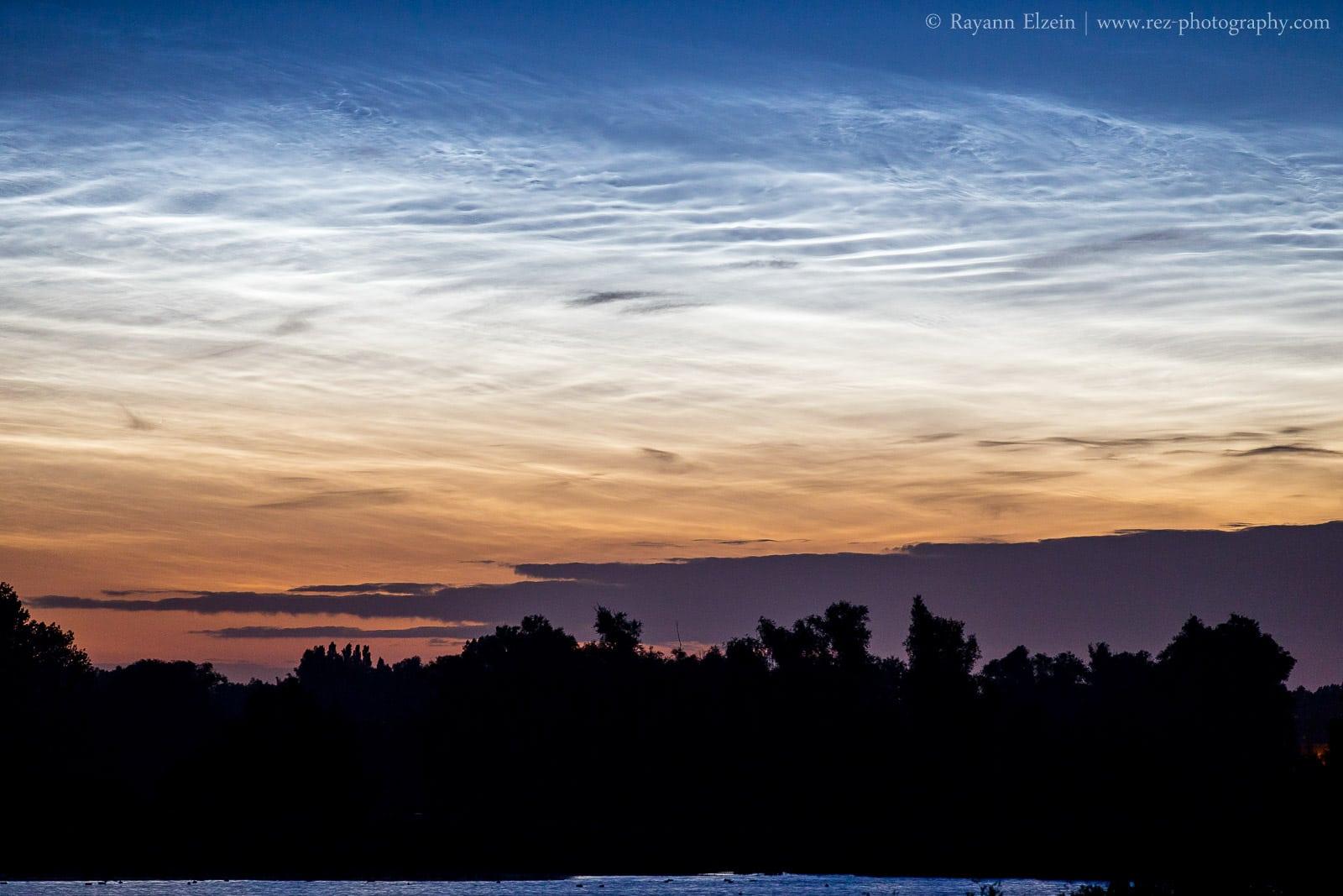 Photograph Noctilucent Clouds