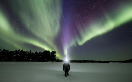 Polar Night and Aurora – Utsjoki (Lapland)
