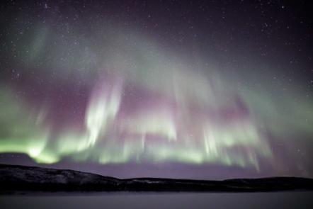 Aurora in Utsjoki