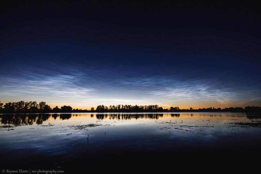 Noctilucent clouds in Nijmegen