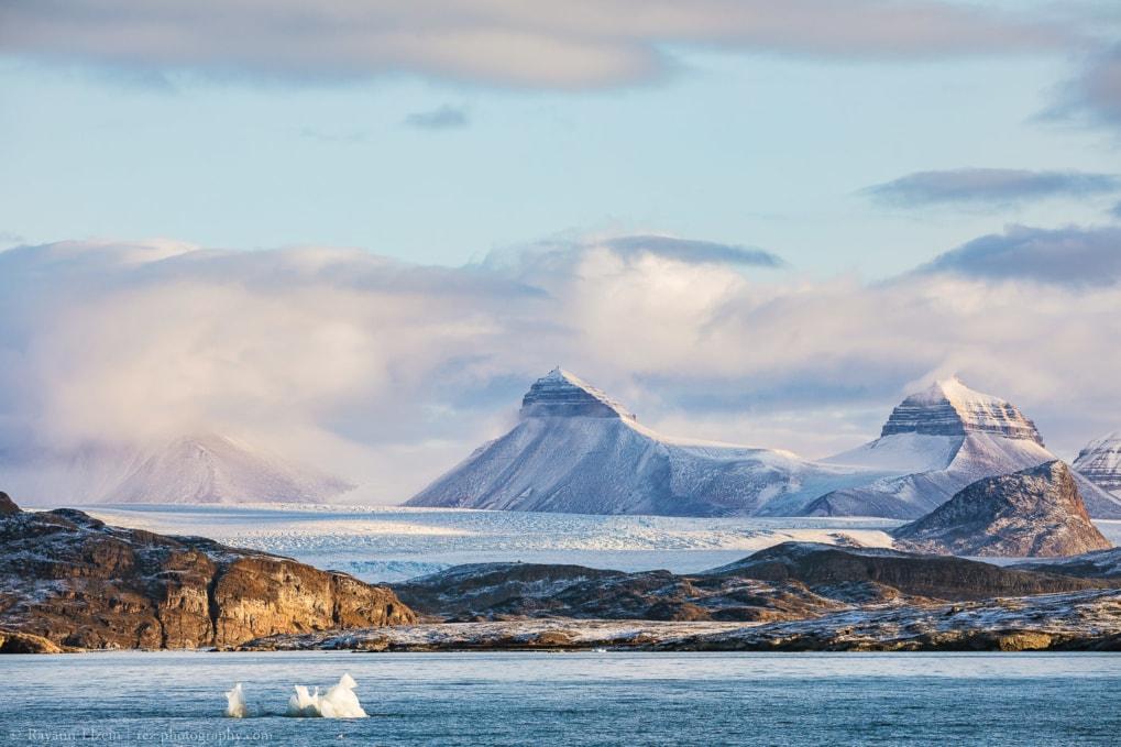 Kongsfjorden in Svalbard